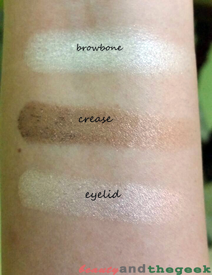 Wet n Wild Color Icon Eyeshadow Trio - Walking On Eggshells swatches