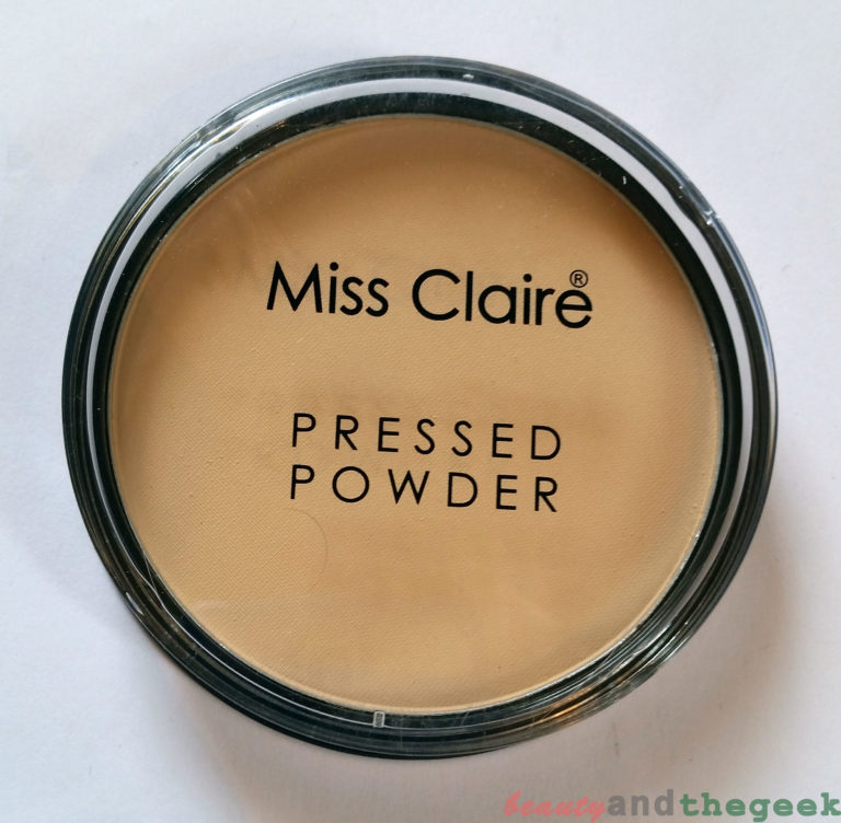 Miss Claire Pressed Powder 01 Review