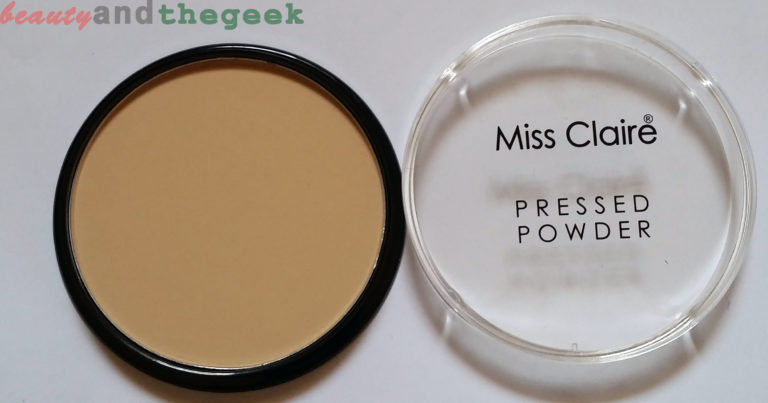 Miss Claire Pressed Powder 01 packaging