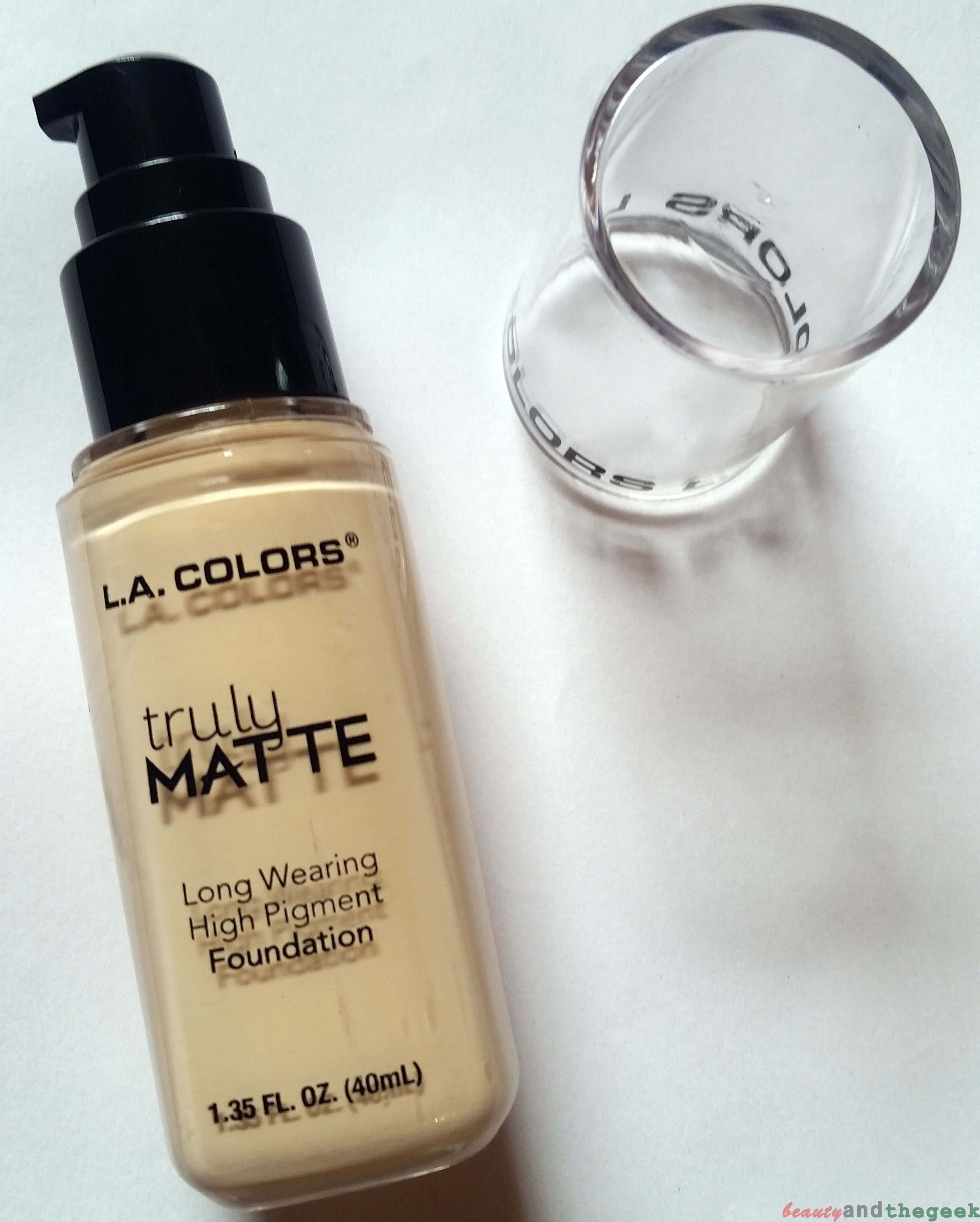 L.A. Colors Truly Matte Foundation featured image