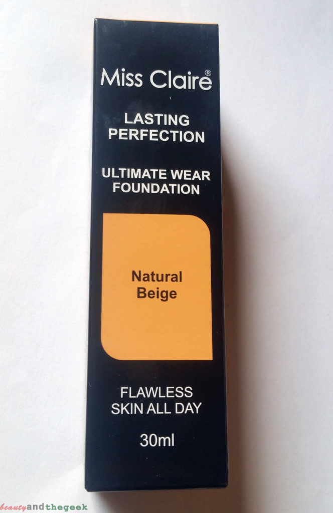 Miss Claire Lasting Perfection Ultimate Wear Foundation