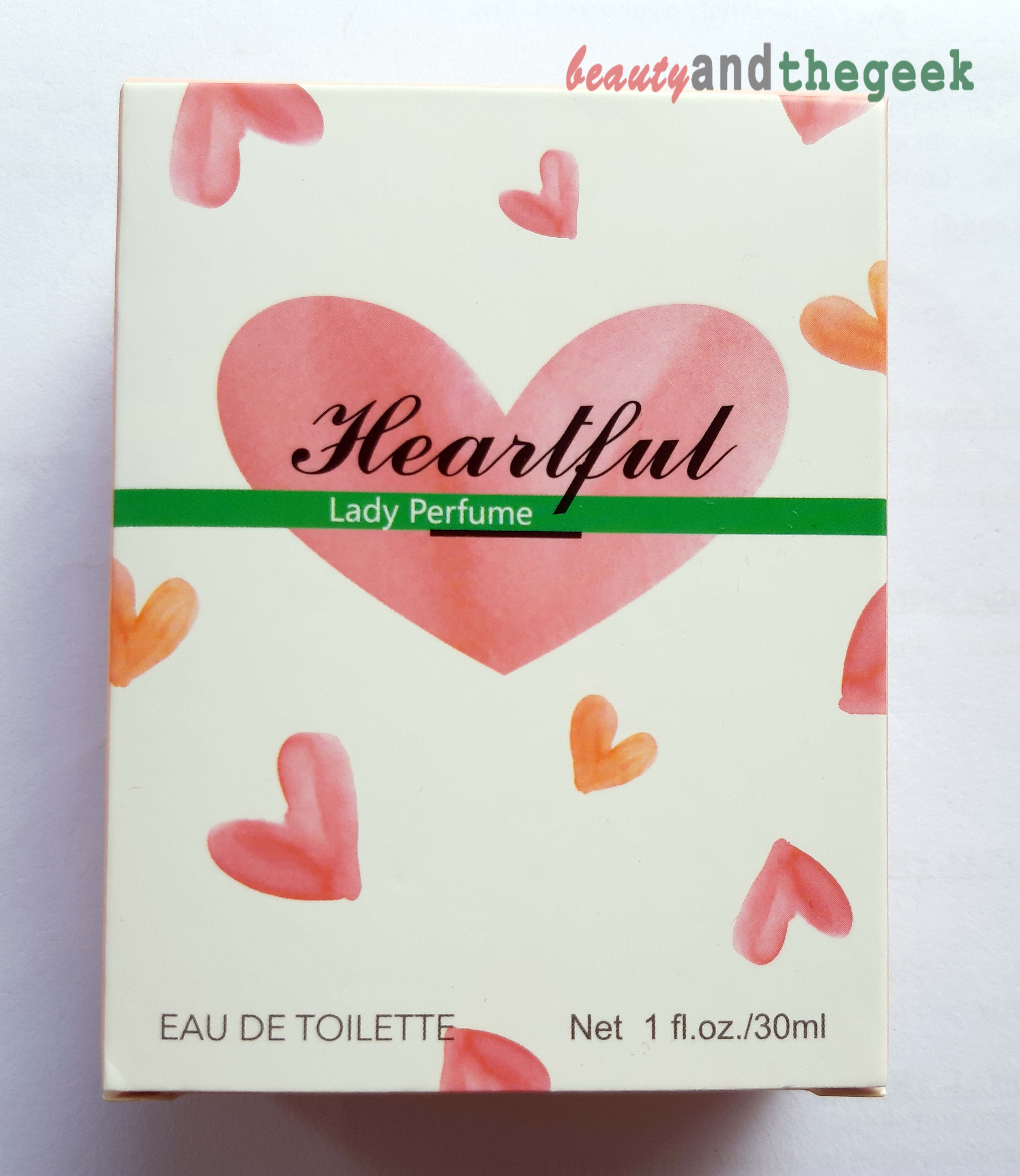 Miniso Heartful Lady Perfume Eau-De-Toilette packaging