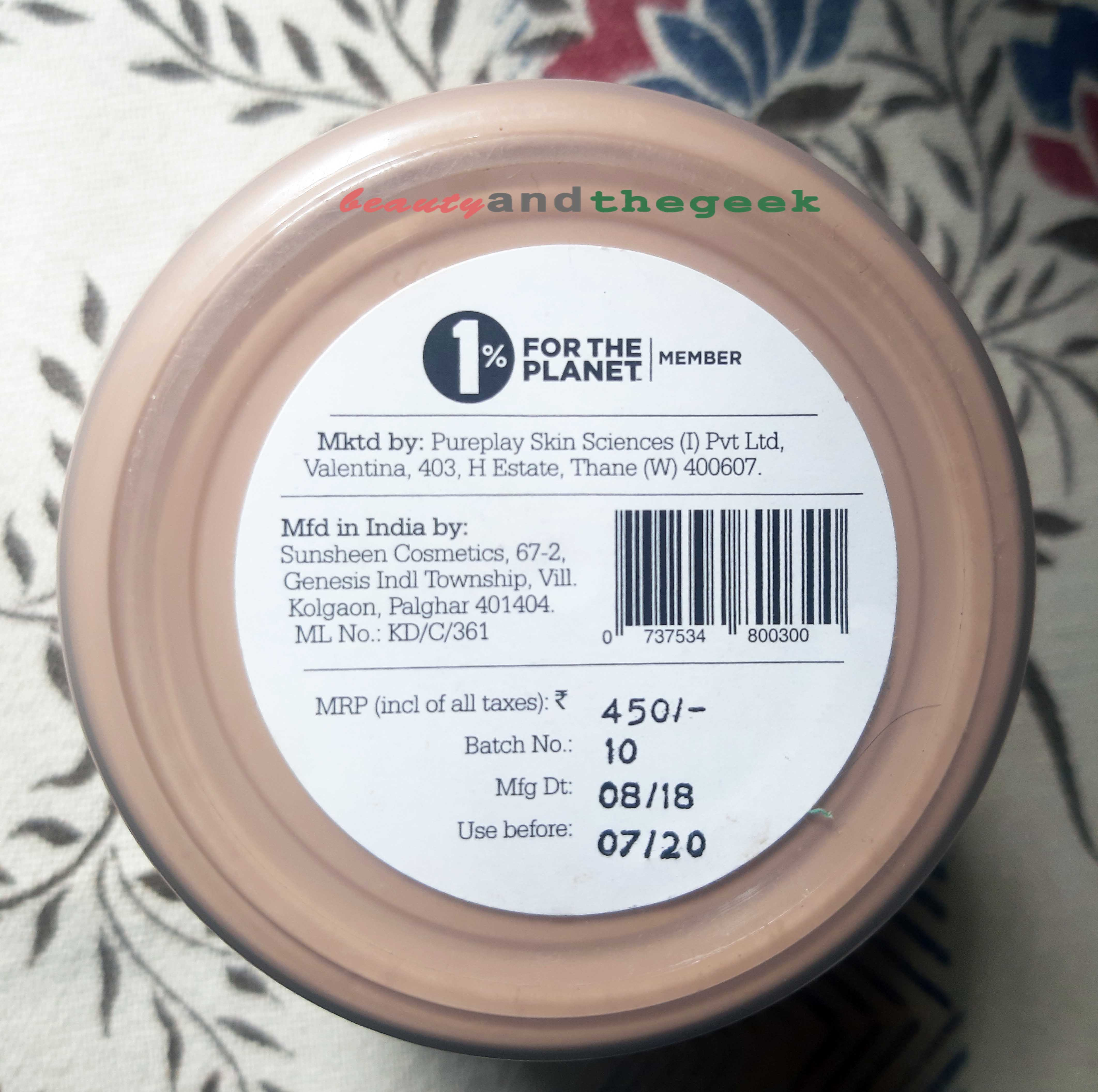 Plum Vanilla and Fig Feel The Fudge Body Butter price