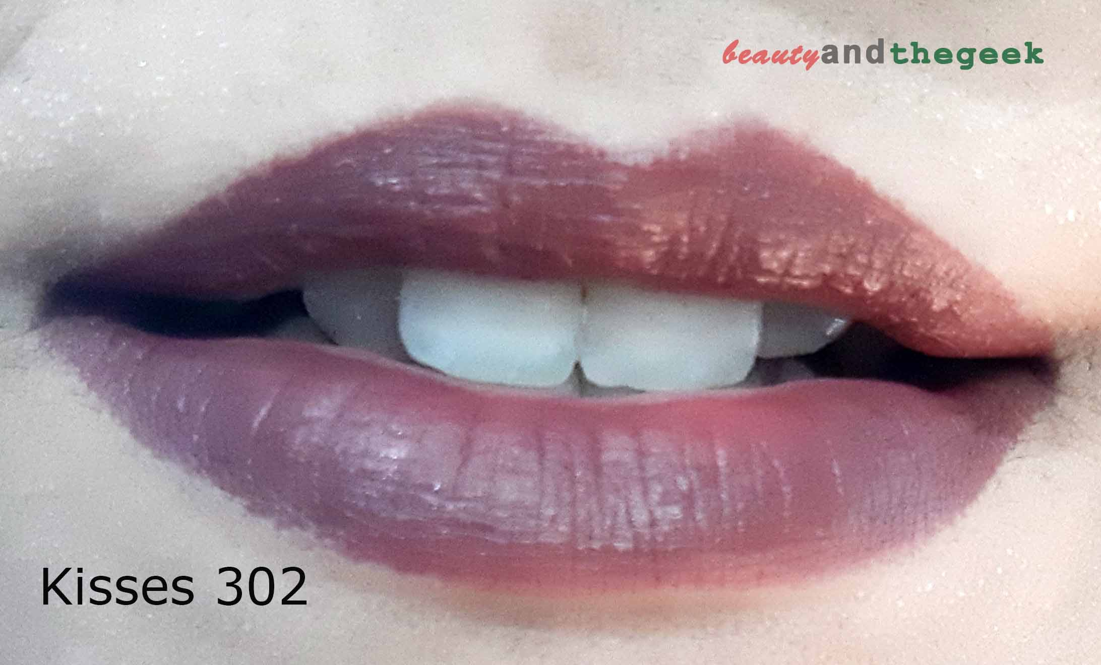 lip swatch 7 heavens color intense lipstick kisses 302